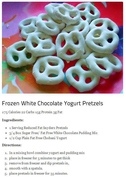 Yogurt Covered Pretzels Healthy  Best 25 Yogurt pretzels ideas on Pinterest