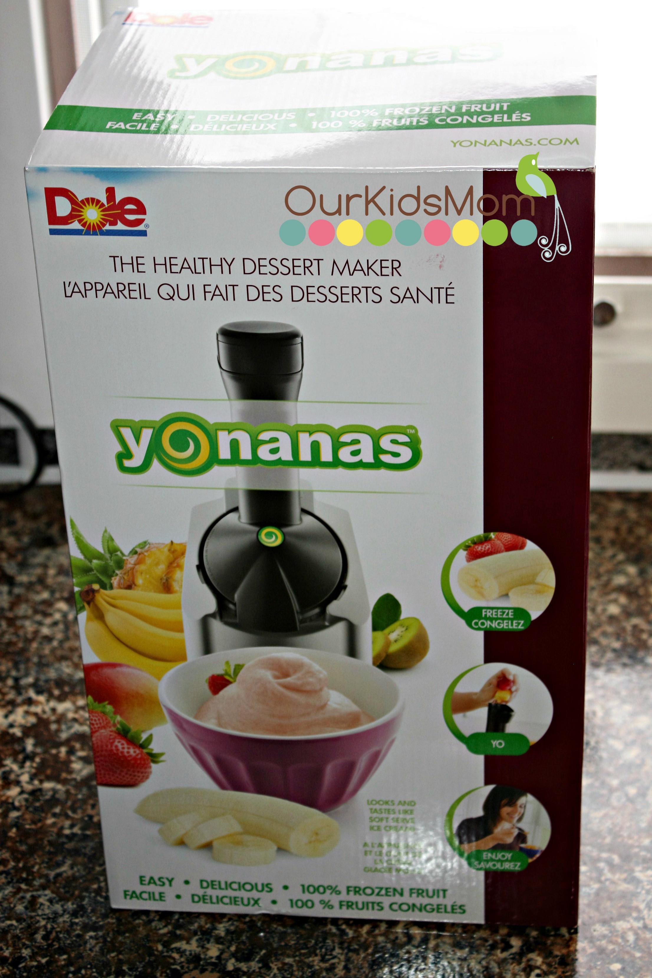 Yonanas Healthy Dessert Maker  Yonanas Healthy Dessert Maker OurKidsMom