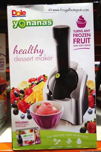 Yonanas Healthy Dessert Maker  Costco Sale Dole Yonanas Healthy Frozen Dessert Maker $29