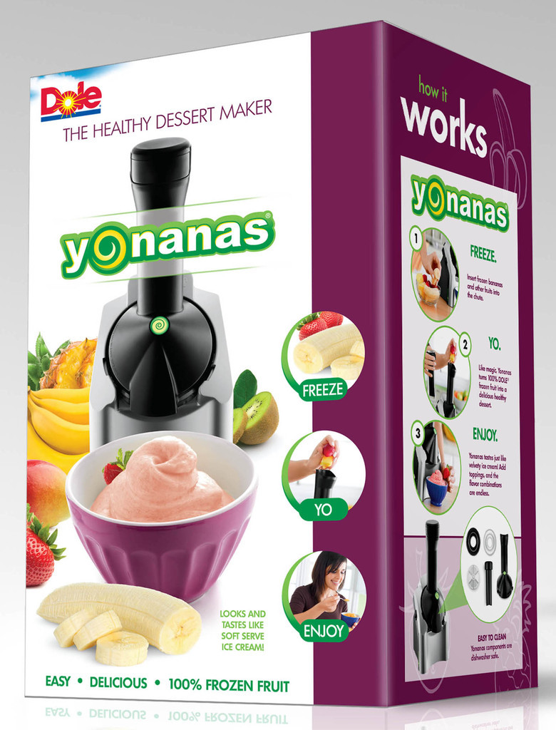 Yonanas Healthy Dessert Maker  YoNanas Appliance Giveaway Cooking Contest Central