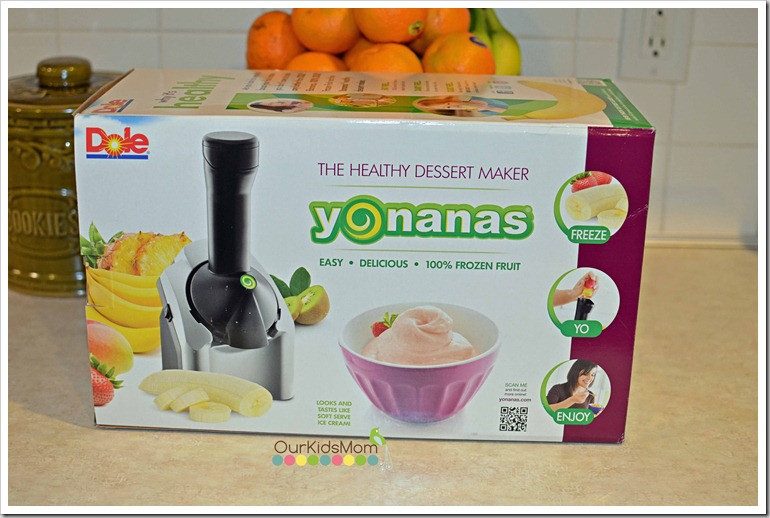 Yonanas Healthy Dessert Maker  WIN Yonanas Healthy Frozen Dessert Maker