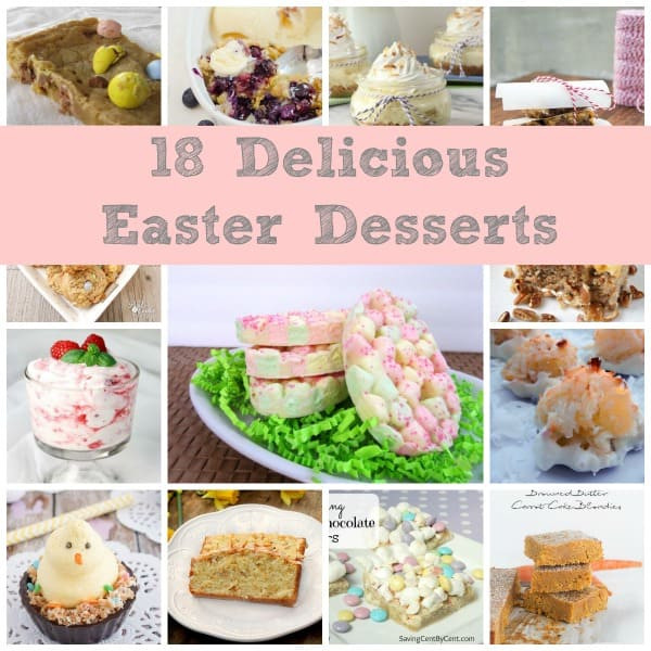 Yummy Easter Desserts  18 Delicious Easter Desserts Simple and Seasonal