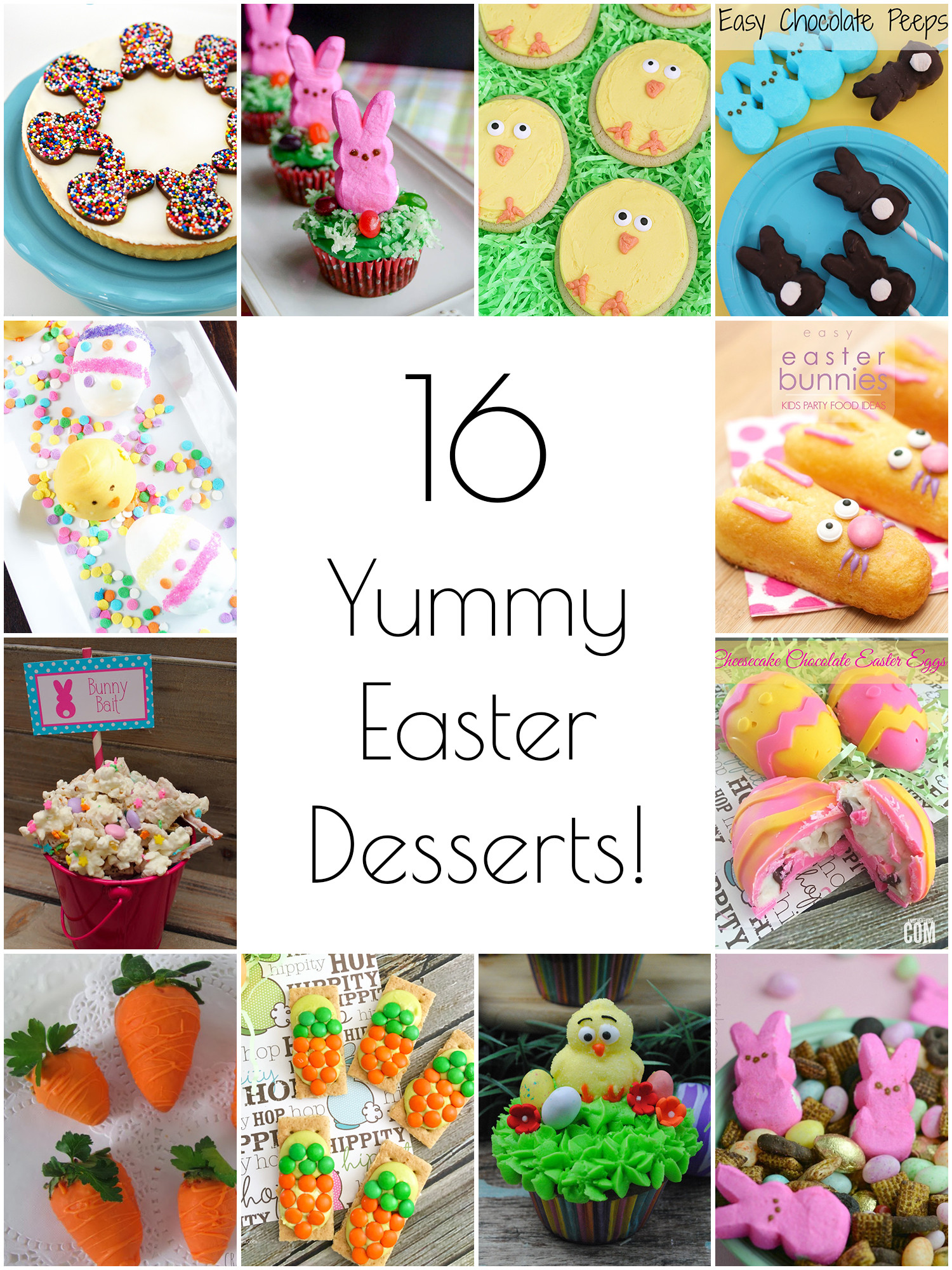 Yummy Easter Desserts  So Creative 16 Yummy Easter Desserts