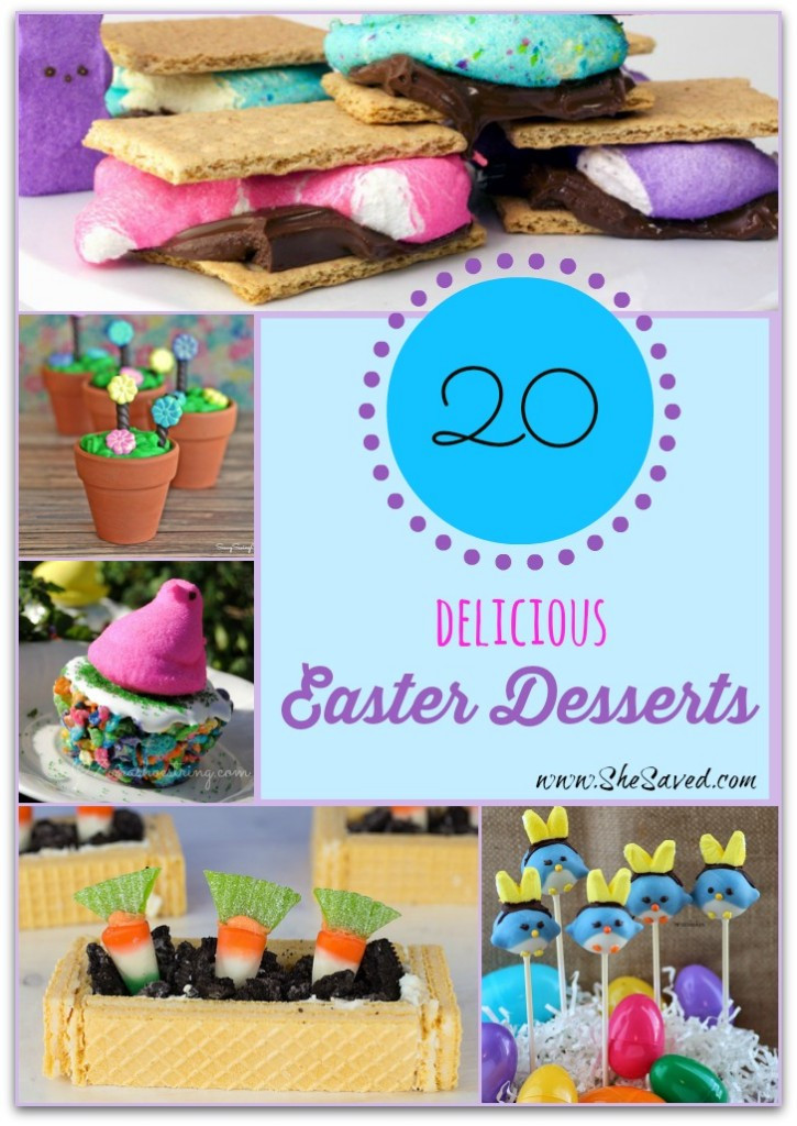 Yummy Easter Desserts  20 Delicious Easter Desserts SheSaved