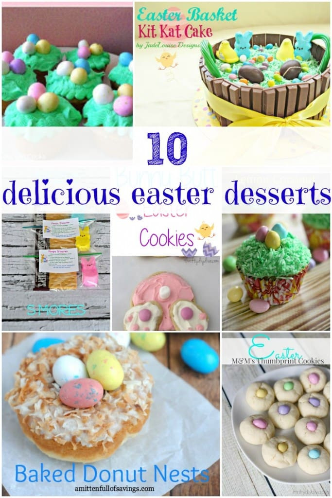 Yummy Easter Desserts  Chocolate Easter Bark