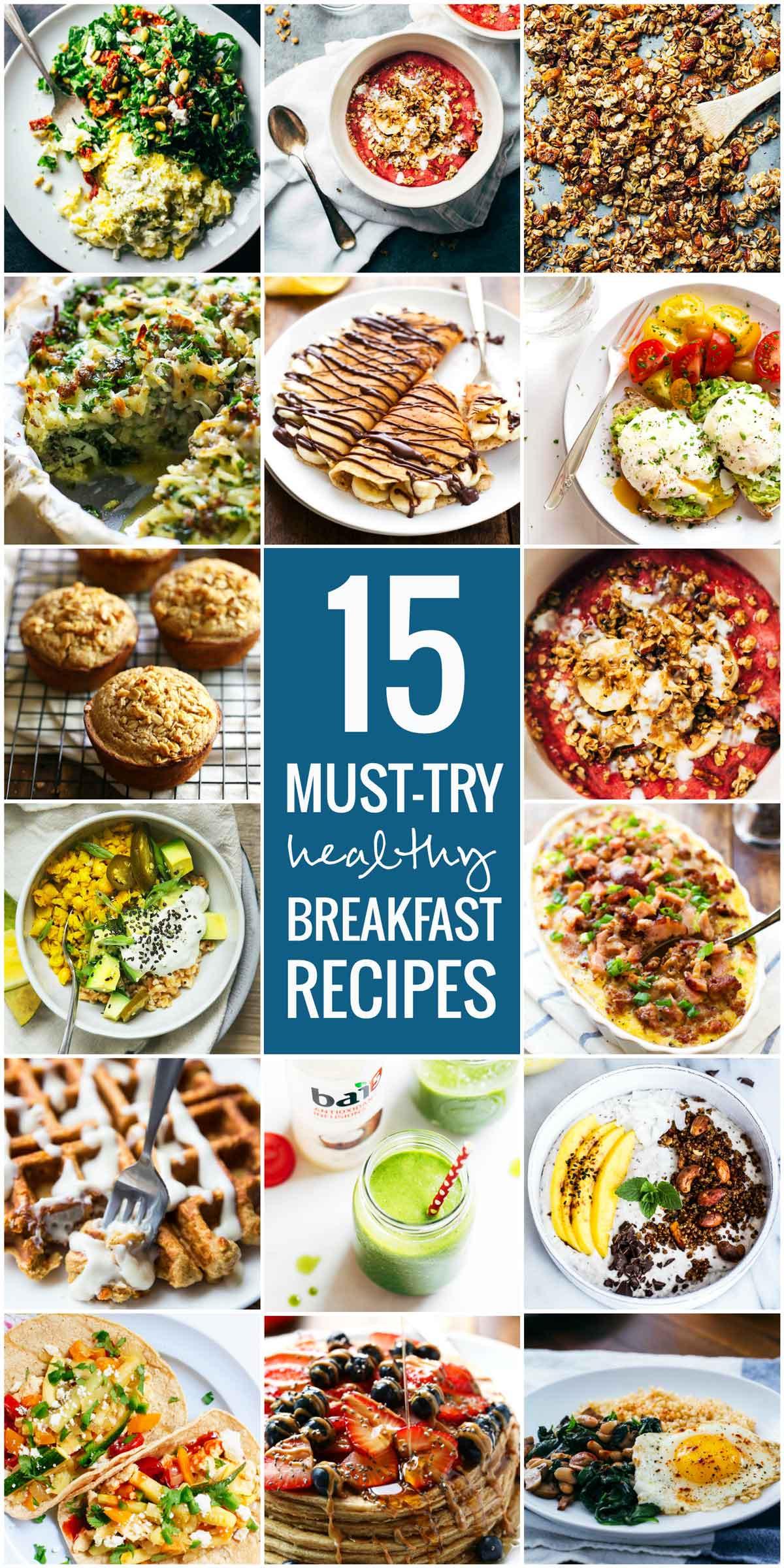 Yummy Healthy Breakfast  15 Must Try Healthy Breakfast Recipes Pinch of Yum