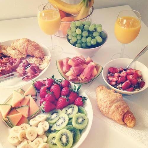 Yummy Healthy Breakfast  Breakfast in bed Morning breakfast and Berries on Pinterest