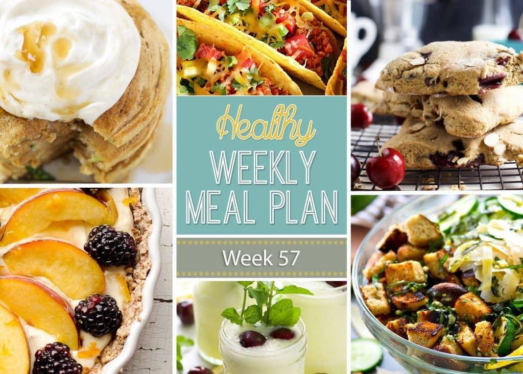 Yummy Healthy Breakfast  Healthy Weekly Meal Plan 57 Yummy Healthy Easy