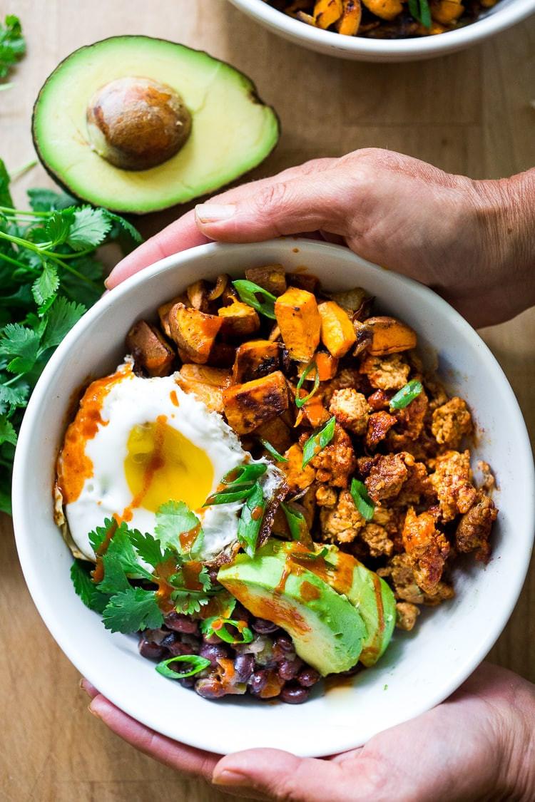 Yummy Healthy Breakfast  Healthy Yummy Mexican Breakfast Bowls