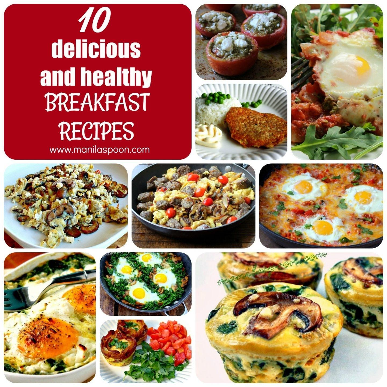 Yummy Healthy Breakfast  Healthy Breakfast Menu Ideas 2018