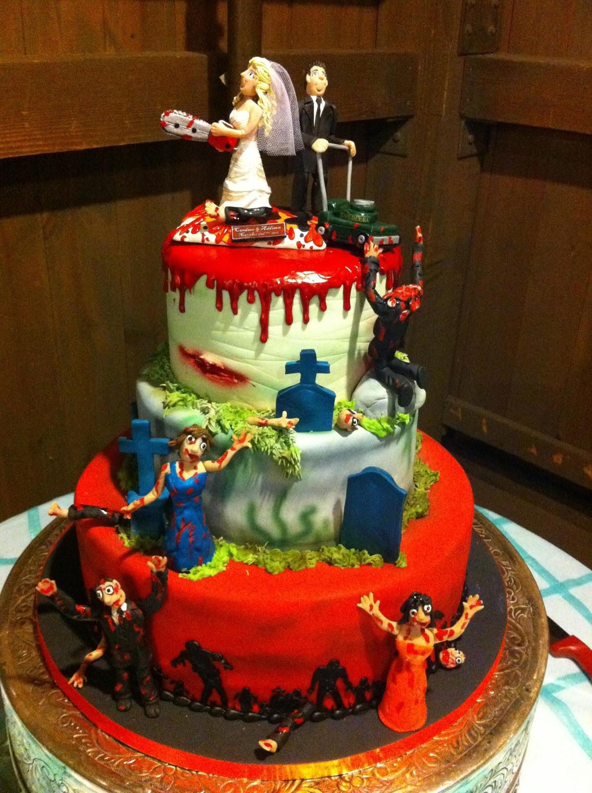 Zombie Wedding Cakes  Doli Diaries' Wedding Cake Inspiration – Doli Diaries