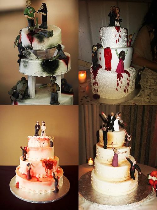 Zombie Wedding Cakes  Best 25 Zombie wedding cakes ideas on Pinterest