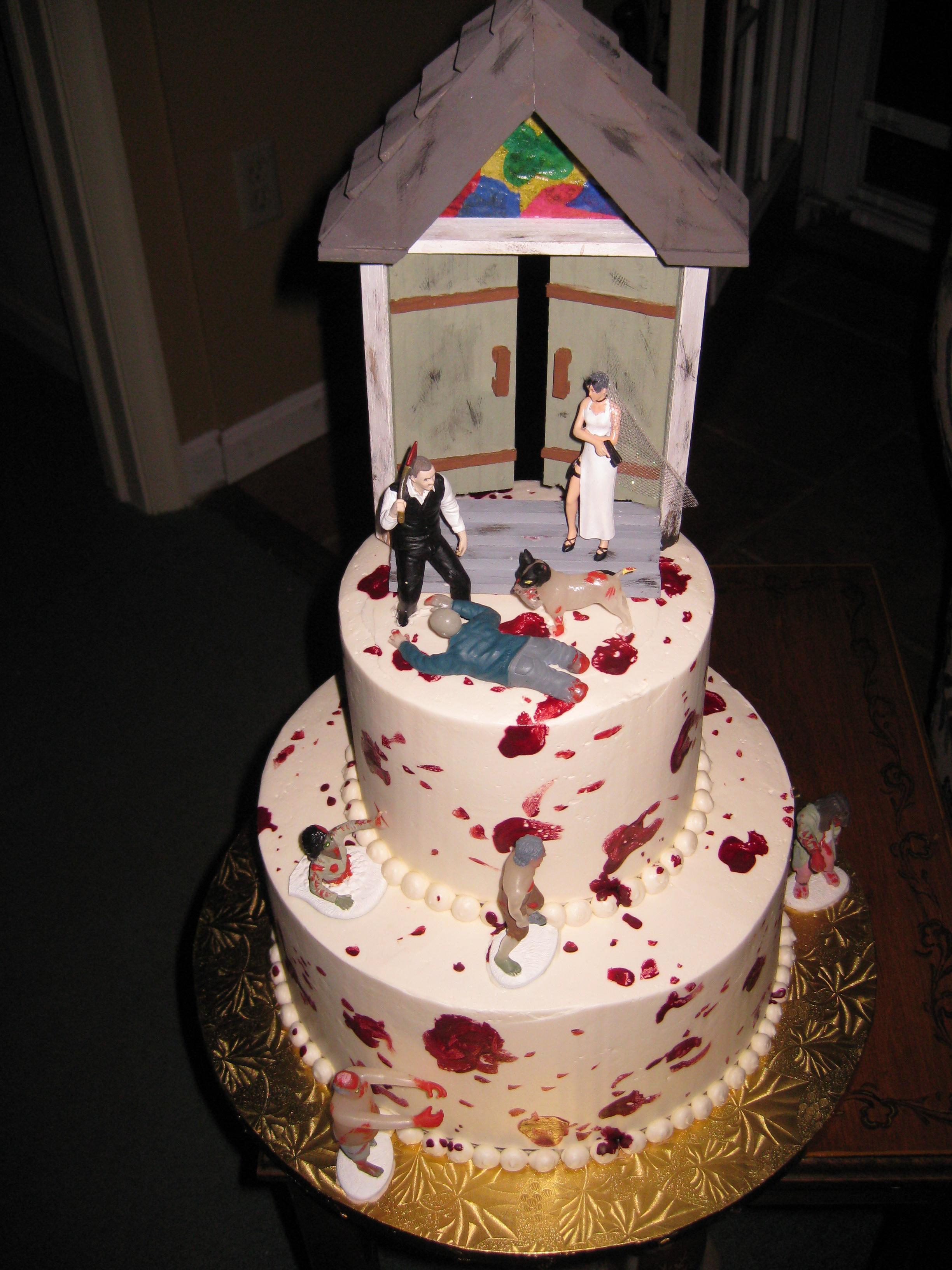 Zombie Wedding Cakes  Awesome Wedding Cakes – NothingsNormal