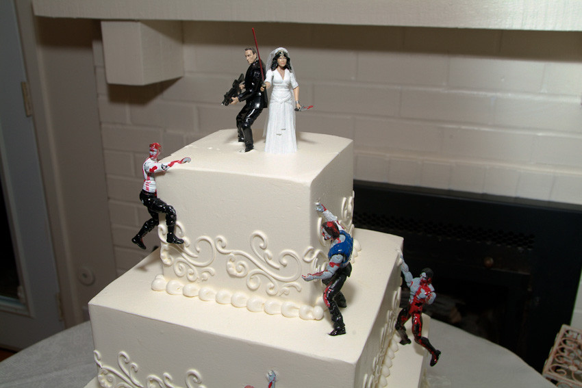 Zombie Wedding Cakes  Till do us part This calls for a zombie wedding cake