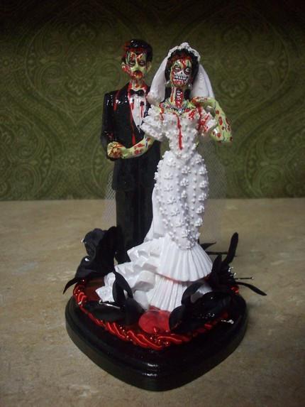 """Zombie Wedding Cakes  Terrible Wedding Cake """"Zombie"""""""