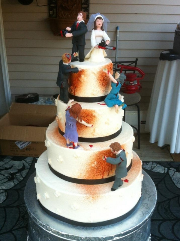 Zombie Wedding Cakes  The Wedding Cake A History