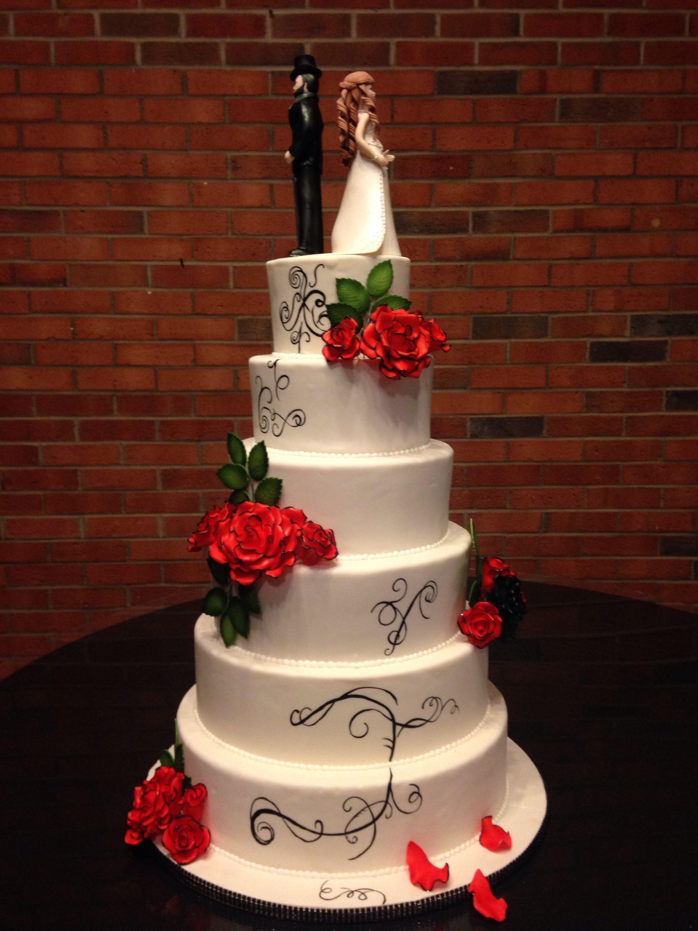 Zombie Wedding Cakes  Zombie Wedding Cake CakeCentral