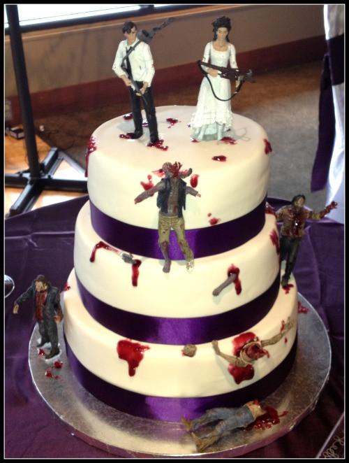 Zombie Wedding Cakes  zombie wedding cake on Tumblr