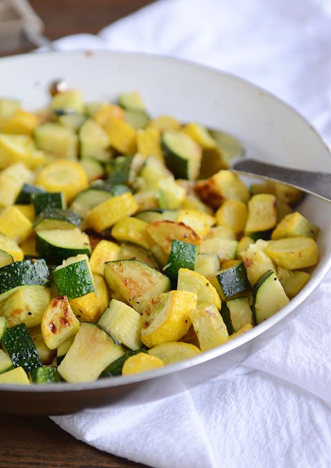 Zucchini And Summer Squash Recipes  Simple Skillet Zucchini and Yellow Squash