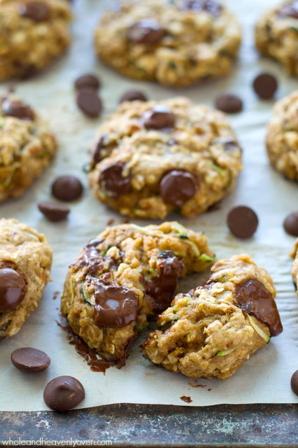 Zucchini Cookies Healthy  Healthy Zucchini Oat Breakfast Cookies