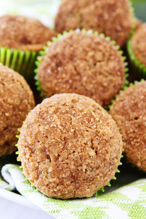Zucchini Muffins Healthy  Apple Zucchini Muffins Recipe