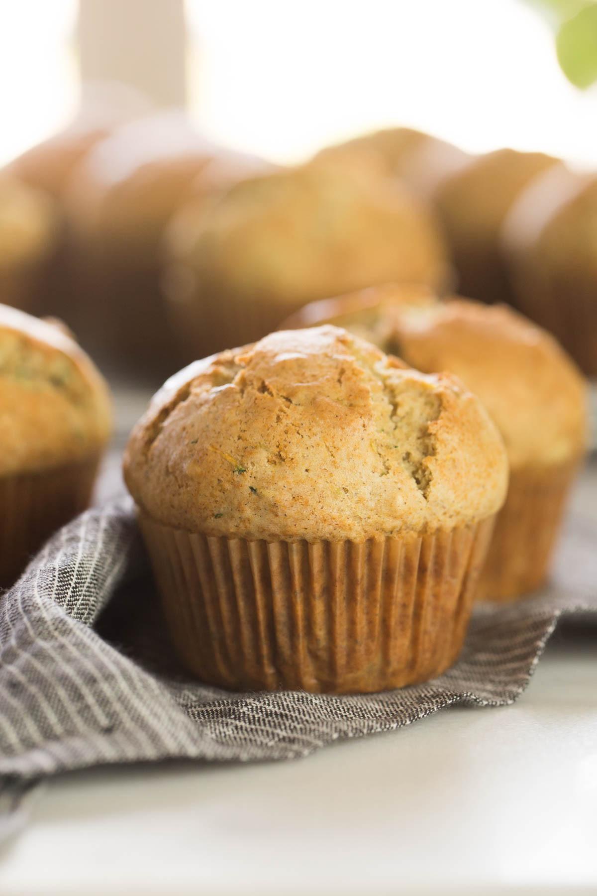 Zucchini Muffins Healthy  Healthier Zucchini Muffins Lovely Little Kitchen