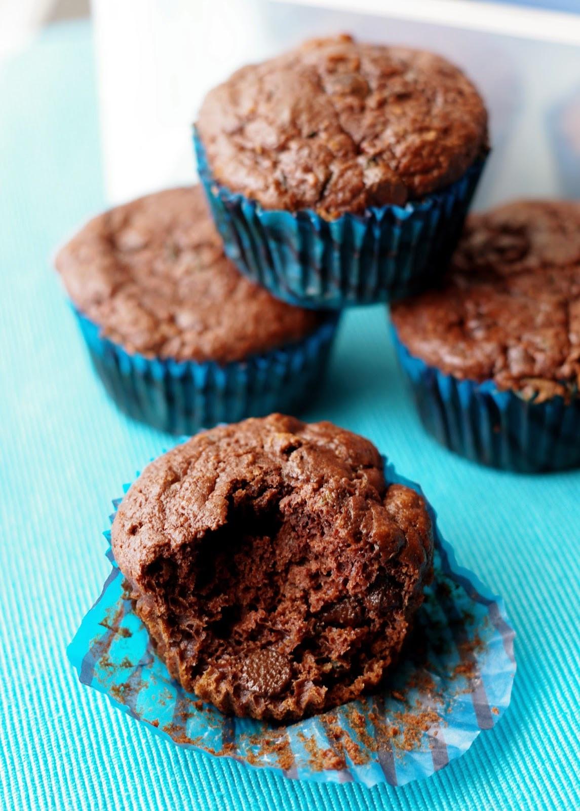 Zucchini Muffins Healthy  the nOATbook Healthy Chocolate Chip Zucchini Muffins