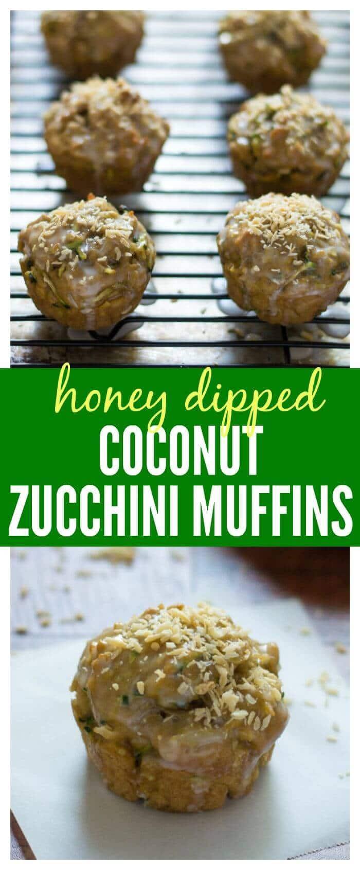 Zucchini Muffins Healthy  Coconut Zucchini Muffins