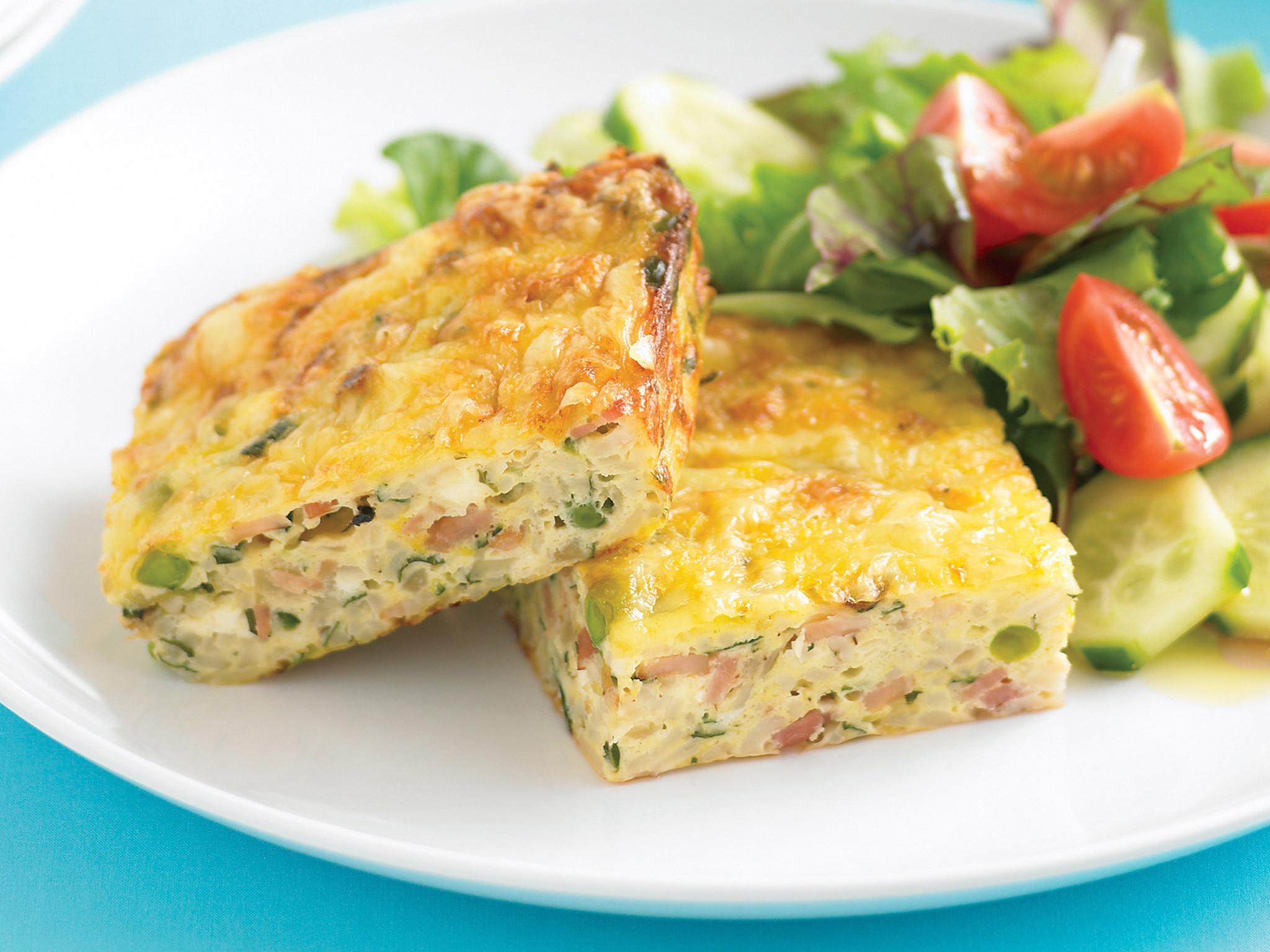 Zucchini Recipe Healthy  easy ve arian zucchini slice recipe