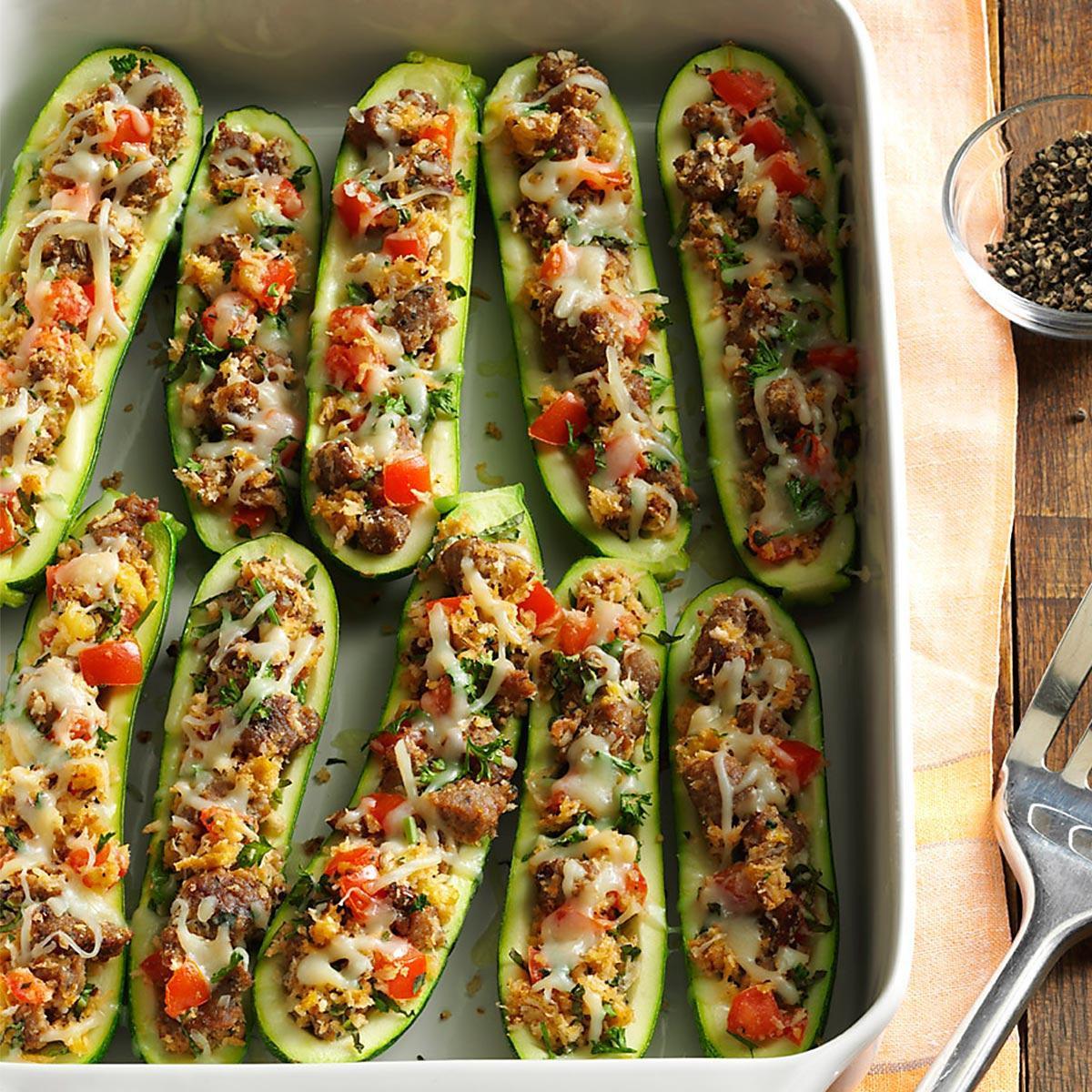 Zucchini Recipe Healthy Best 20 Healthy Stuffed Zucchini Recipe
