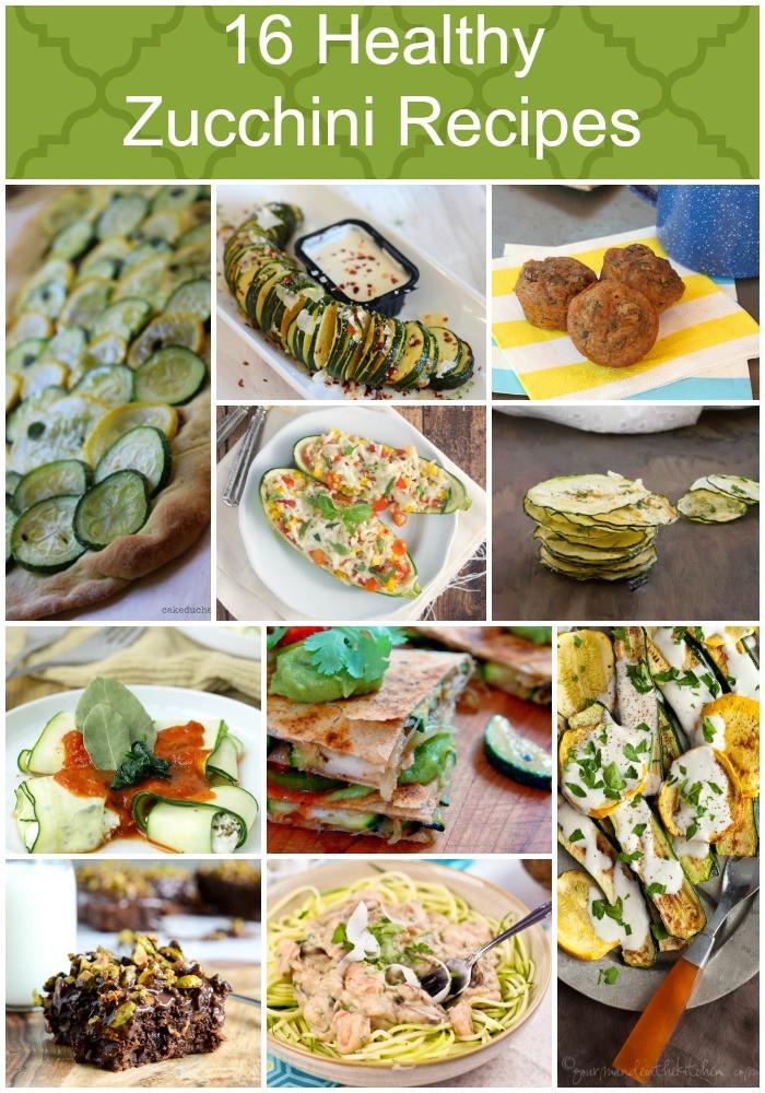 Zucchini Recipe Healthy  16 Healthy Zucchini Recipes Food Done Light