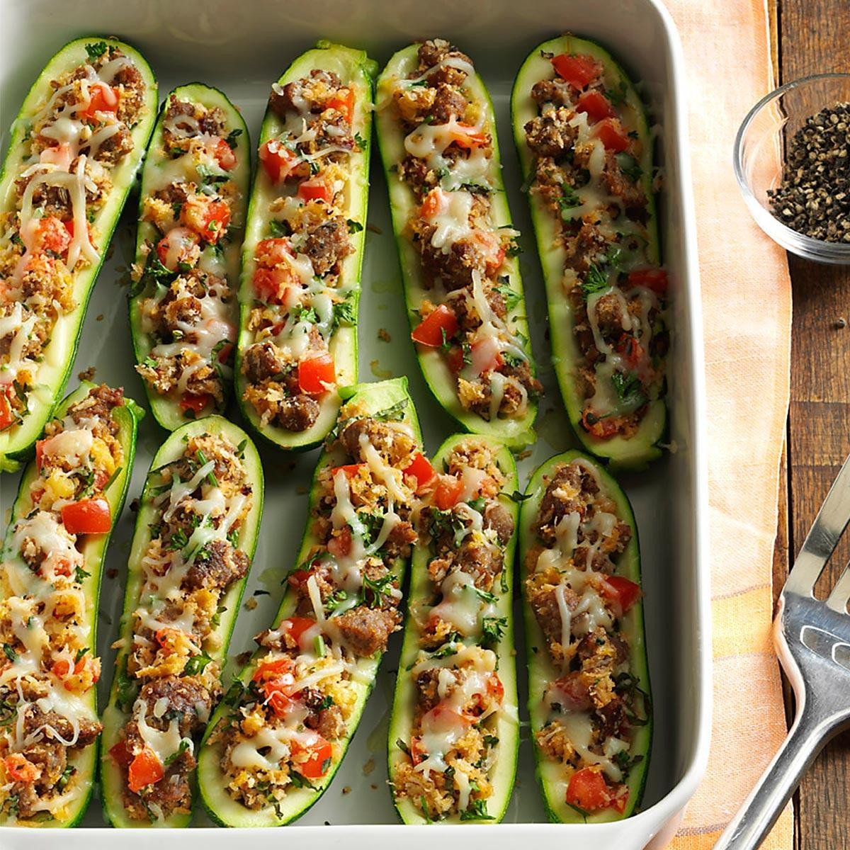 Zucchini Recipes Healthy the top 20 Ideas About Healthy Stuffed Zucchini Recipe