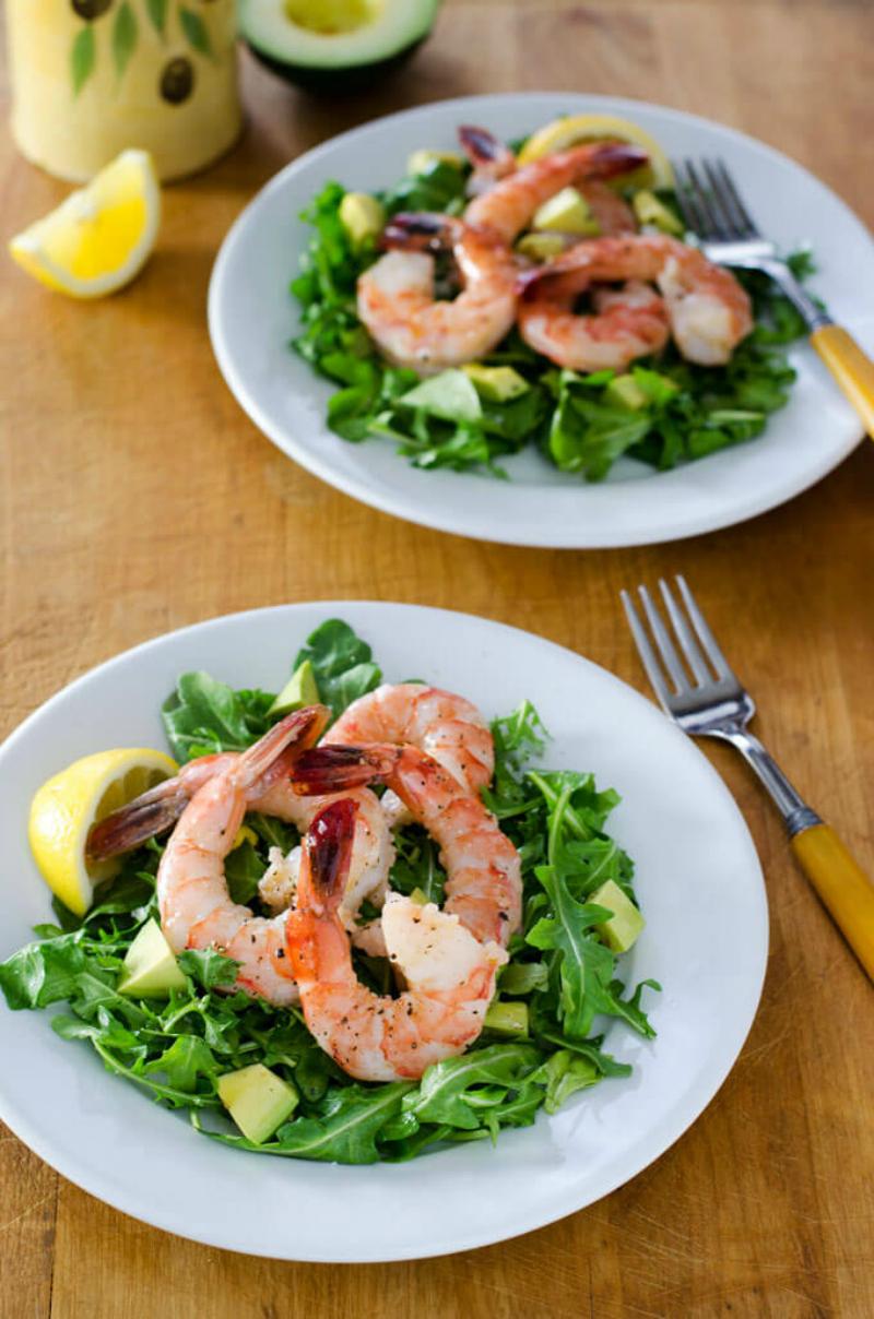 10. Shrimp Arugula Salad