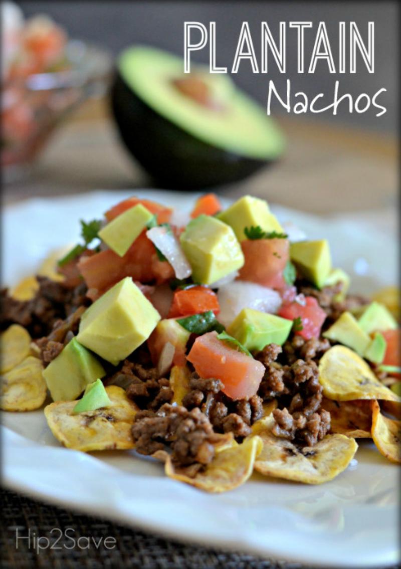 7. Plantain nachos