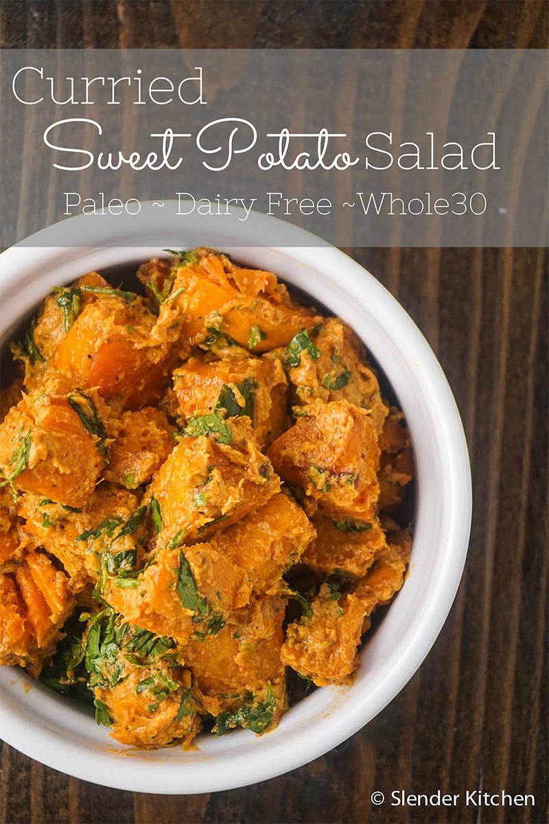 3. Curried Sweet Potato Salad