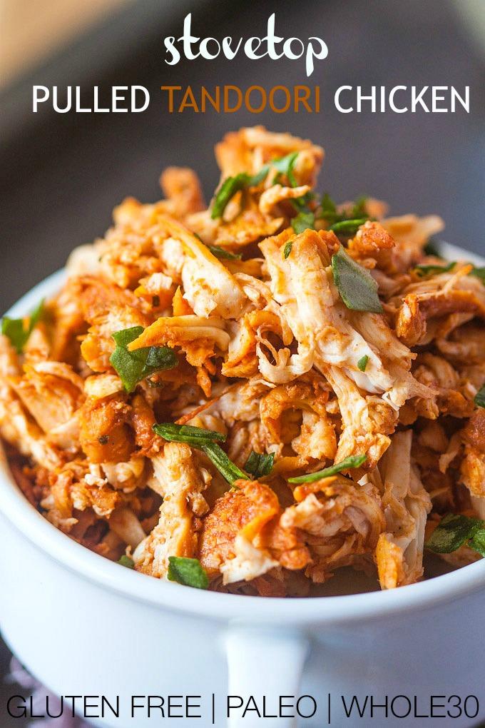 14.  Pulled Tandoori Chicken