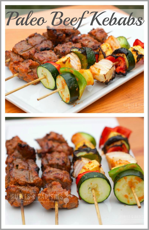20. Zesty Beef Kebabs