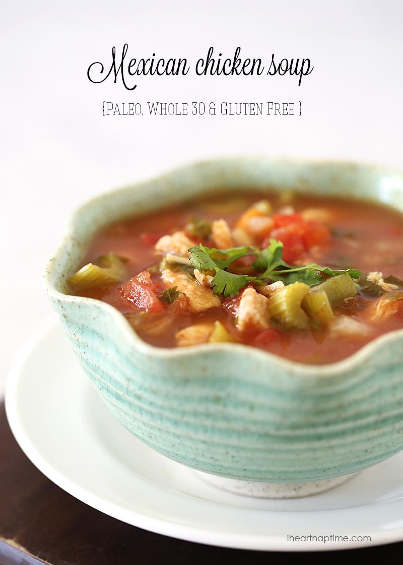 22. Mexican Chicken Soup