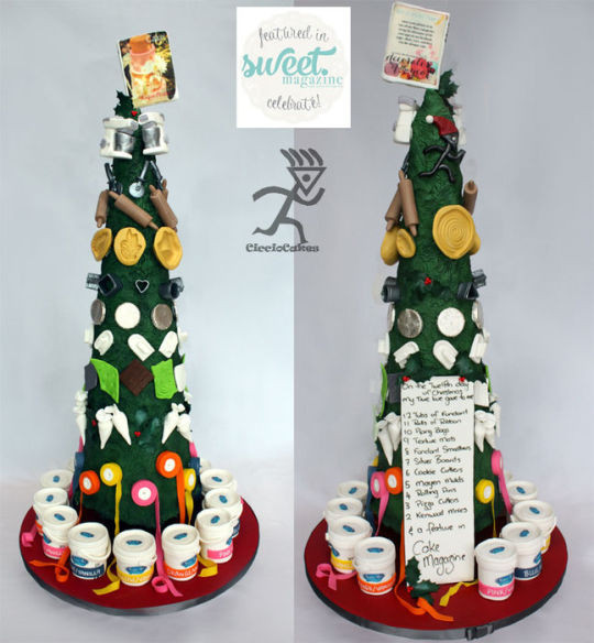12 Days Of Christmas Cakes  12 Days of Christmas A Cake Decorators Version for