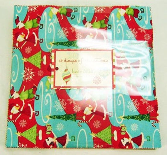 12 Days Of Christmas Cakes  12 DAYS OF CHRISTMAS Layer Cake MODA no2441LC