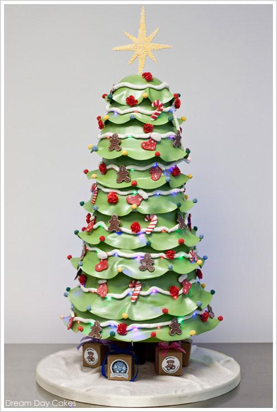 12 Days Of Christmas Cakes  3rd Cake of Christmas