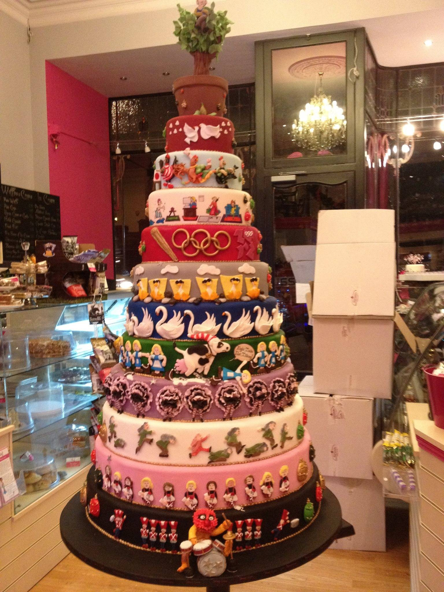 12 Days Of Christmas Cakes  34 Christmas Cakes That Are More Works of Art Than They