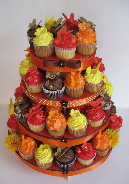 25 Fabulous Autumn Fall Cupcakes  Best 25 Fall wedding cupcakes ideas on Pinterest