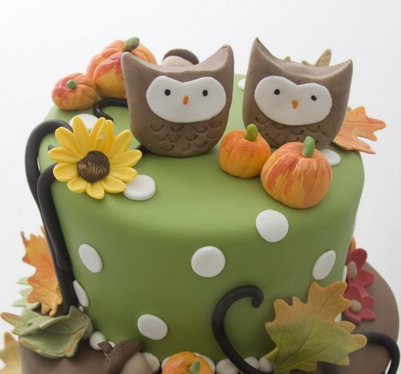 25 Fabulous Autumn Fall Cupcakes  45 Fabulous Fall Cakes and Cupcakes Decorating Ideas for