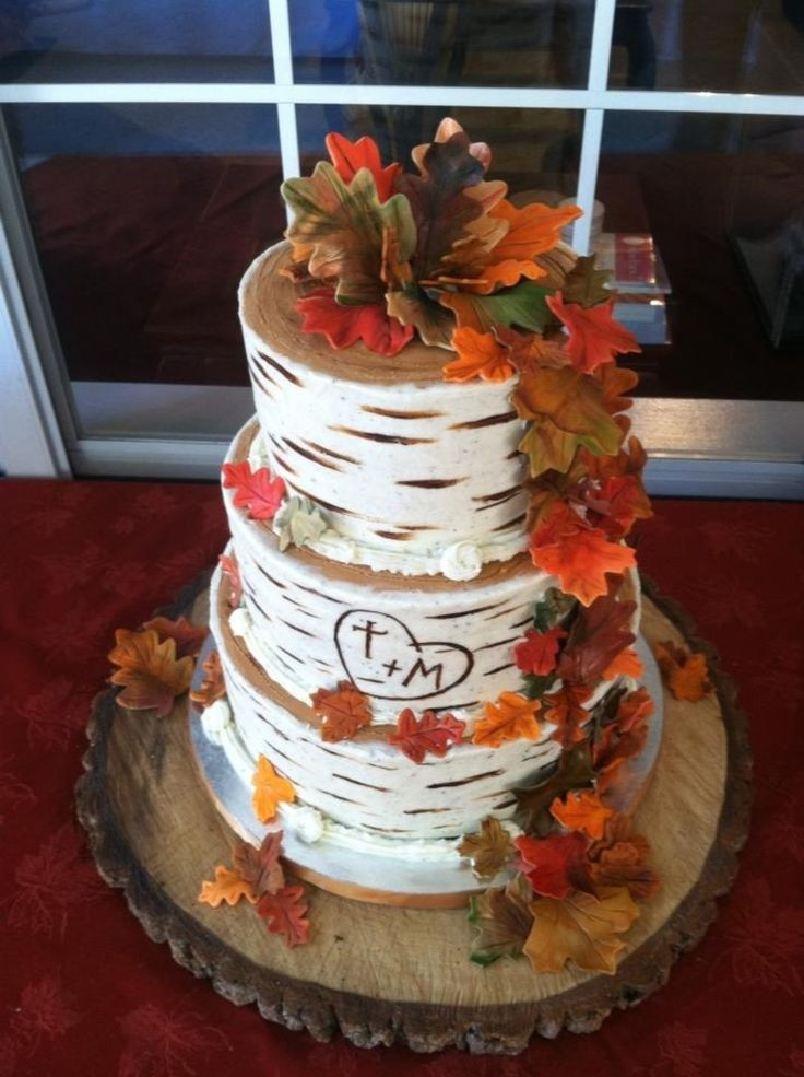 25 Fabulous Autumn Fall Cupcakes  25 best ideas about Wedding cake stands on Pinterest