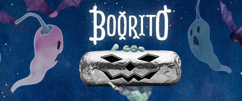 $3 Burritos At Chipotle On Halloween  $3 Burritos Bowl & Taco With Chipotle s Halloween