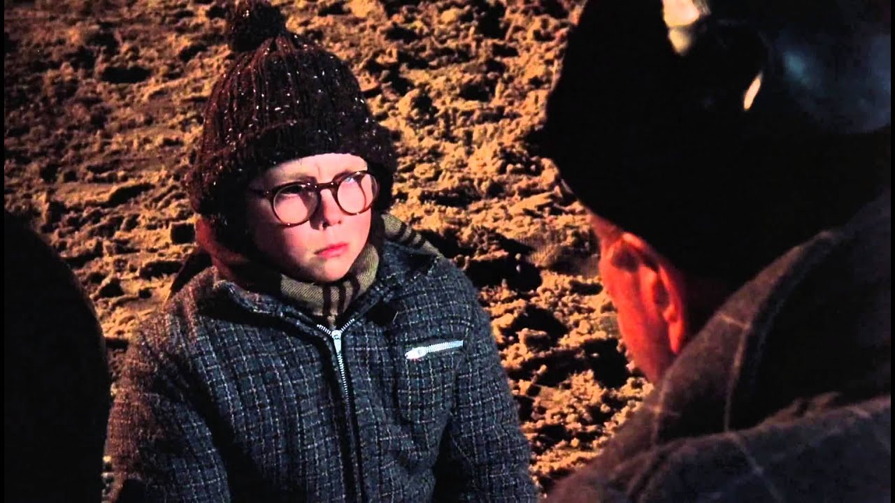 A Christmas Story Oh Fudge  Christmas Story Oh Fudge