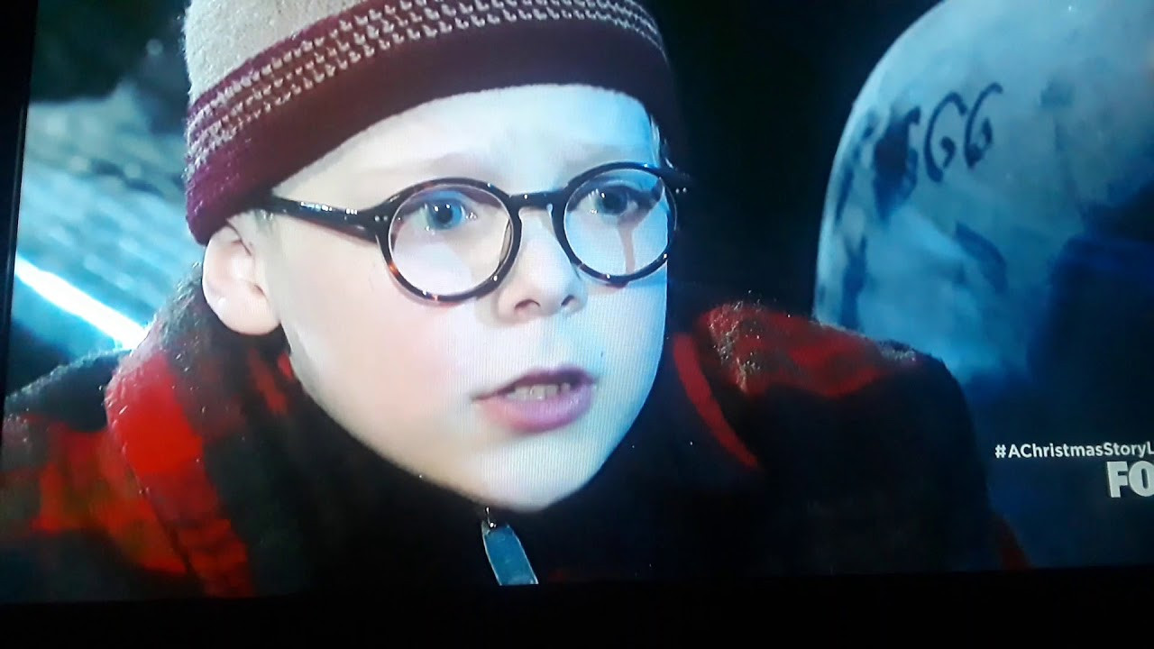 A Christmas Story Oh Fudge  A Christmas Story Live clip Oh fudge