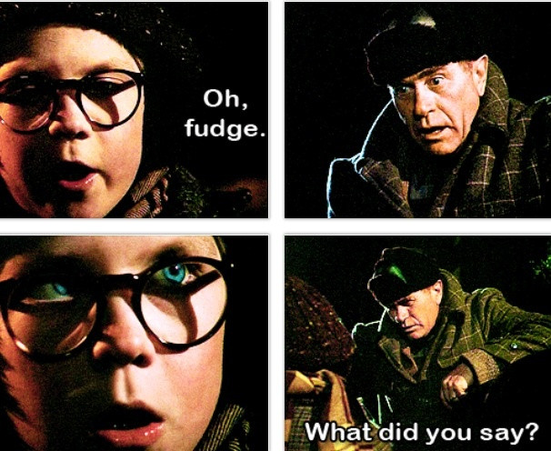 A Christmas Story Oh Fudge  Best 20 Christmas story quotes ideas on Pinterest