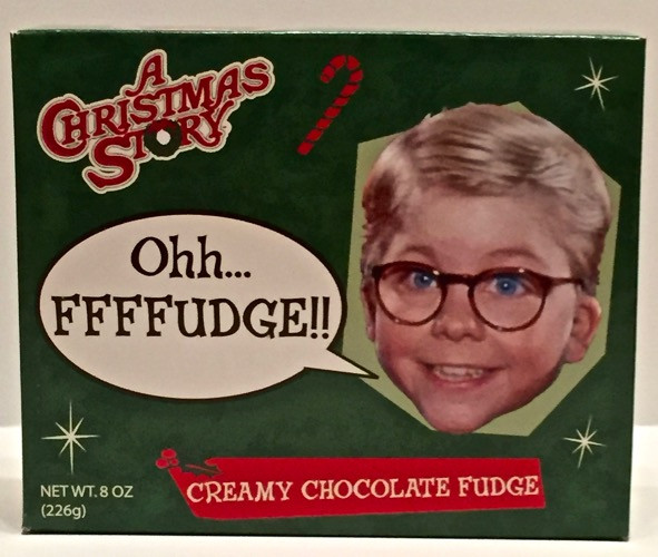 A Christmas Story Oh Fudge  A Christmas Story Oh Fudge Creamy Chocolate